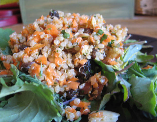Quinoa with Carrot & Cilantro